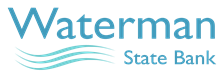 Waterman State Bank logo