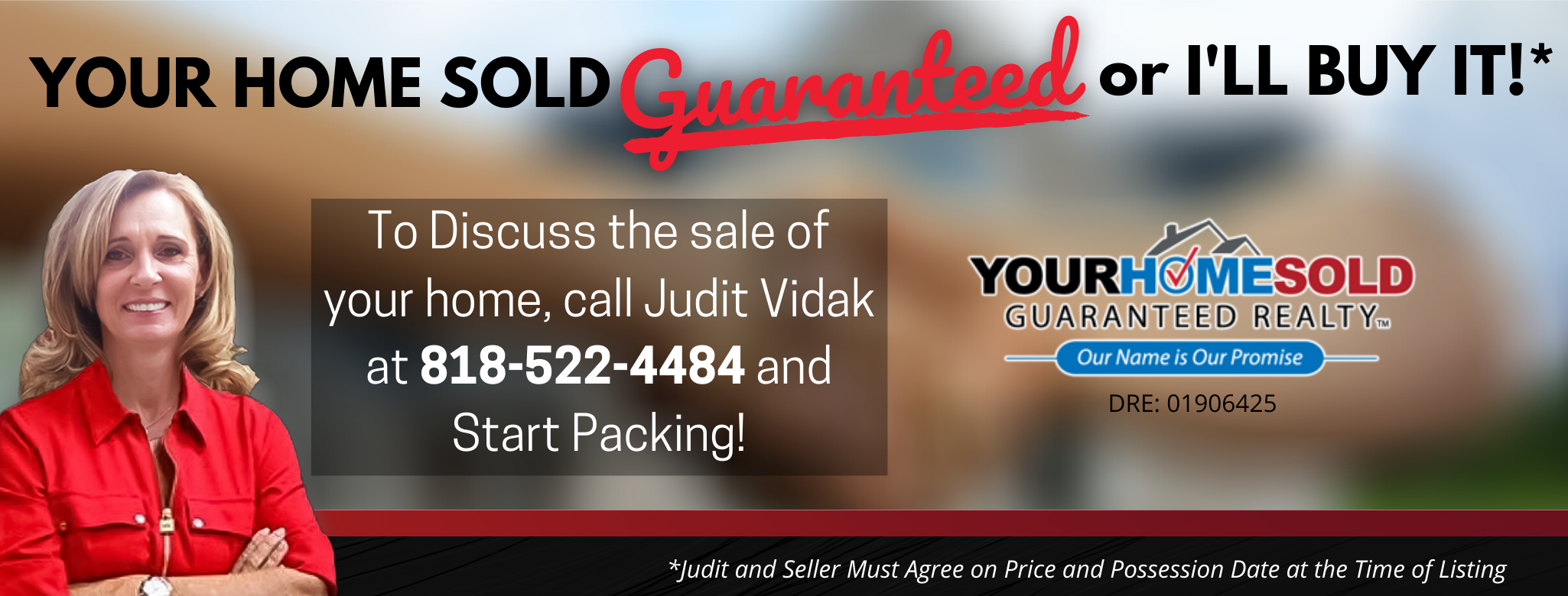 YOUR HOME SOLD GUARANTEED REALTY TEAM JUDIT VIDAK logo