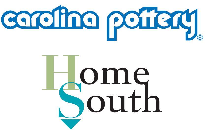 Carolina Pottery/Home South logo