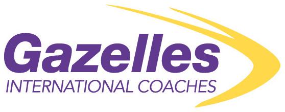 Gazelles International Coaches logo