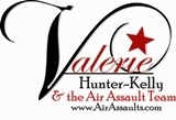 Valerie Hunter-Kelly & the Air Assault Team logo