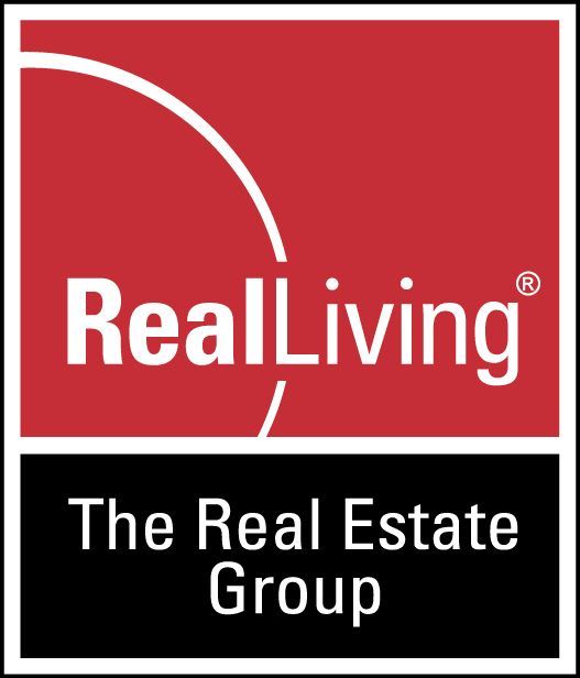 Real Living, The RE Group logo