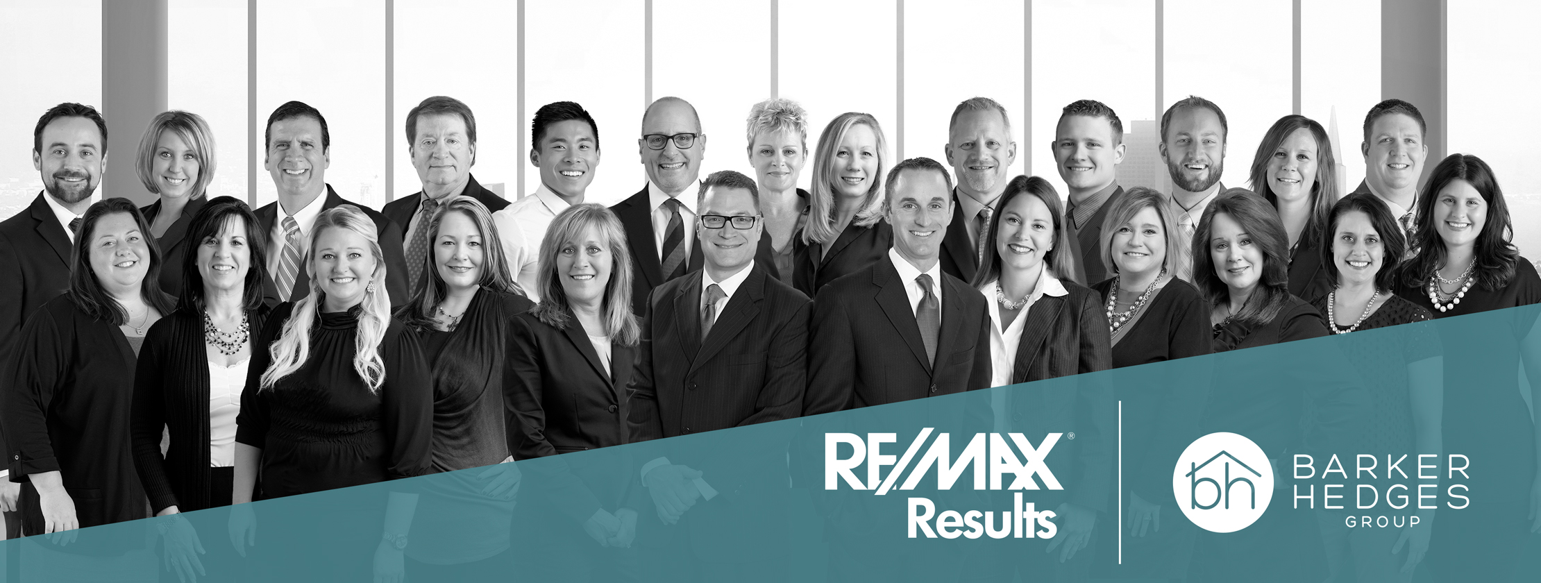 RE/MAX Results - Barker Hedges Group logo