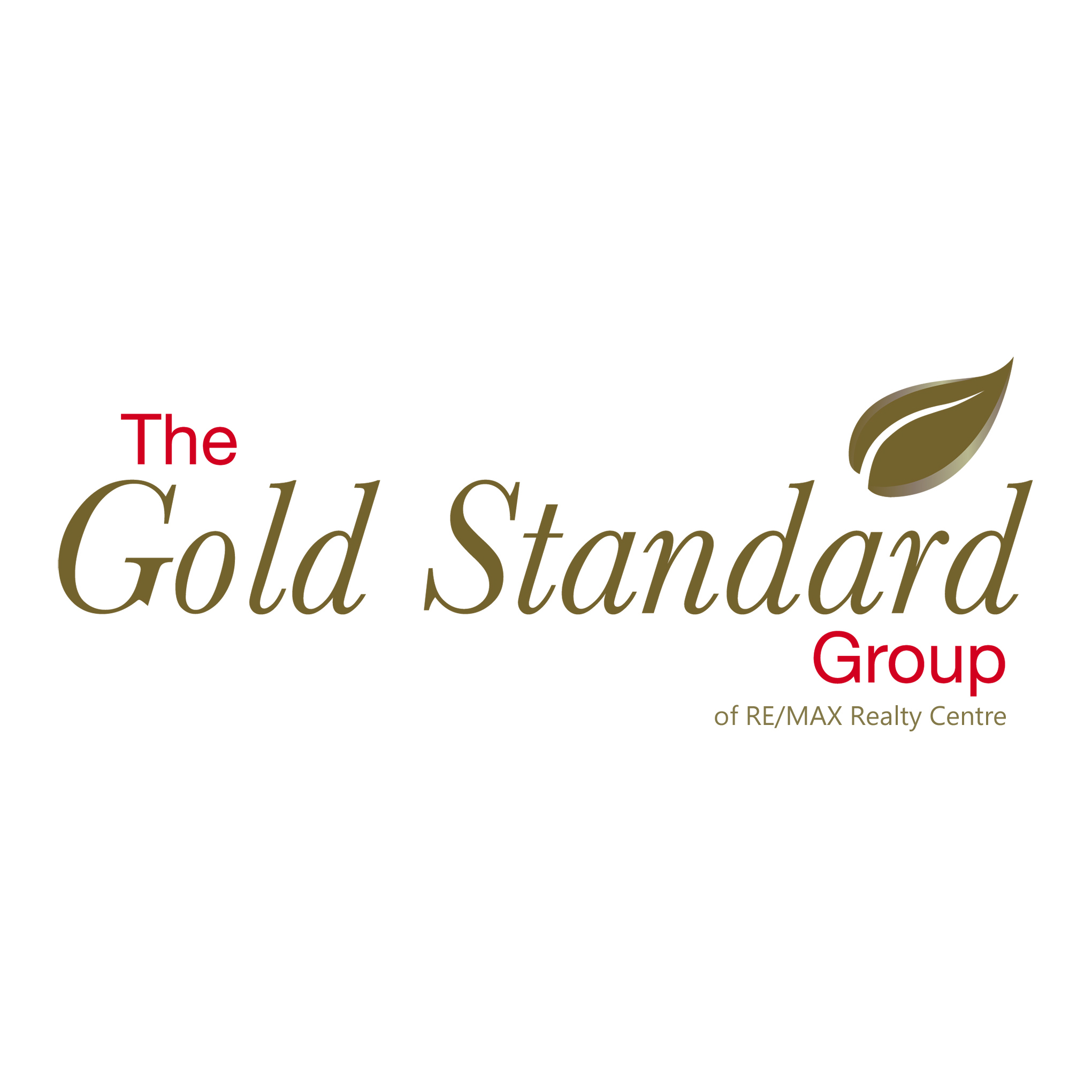 The Gold Standard Group of RE/MAX Realty Centre logo