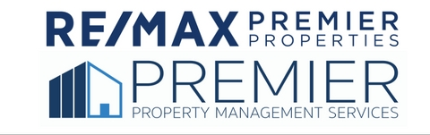 RE/MAX Premier Properties & Premier Property Management logo