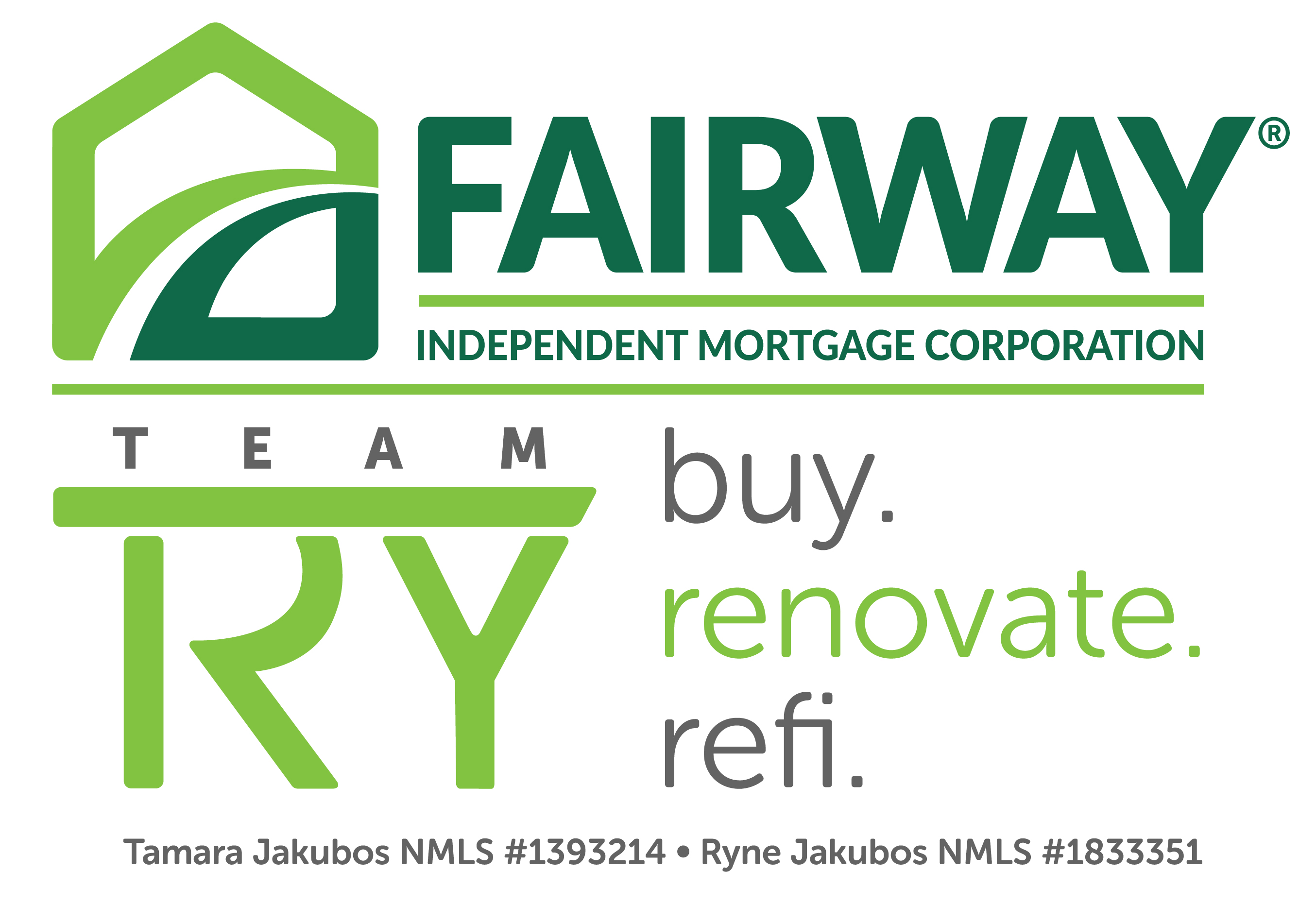 Team TRY, Fairway Independent Mortgage Corporation logo