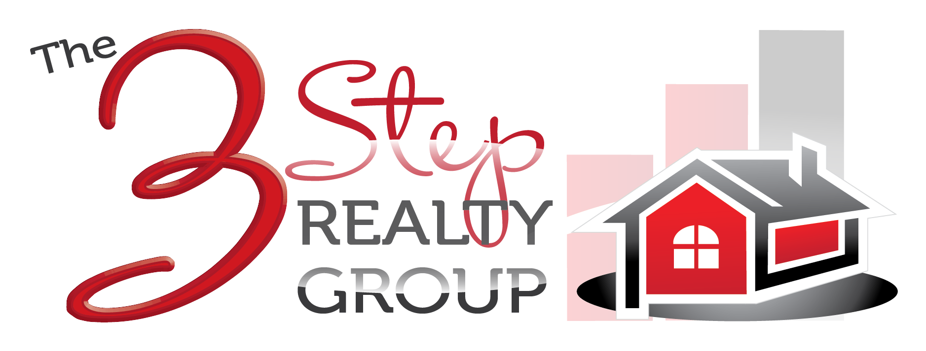 The 3 Step Realty Group logo