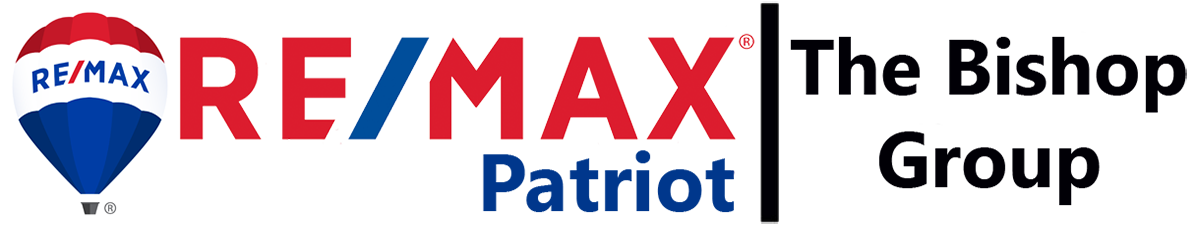 RE/MAX Patriot and The Bishop Group logo
