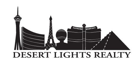 Desert Lights Realty / Team Wolfe Pack logo