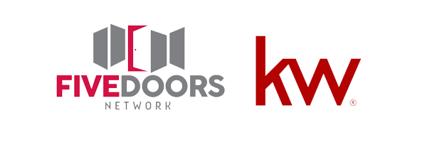 Five Doors Network of Keller Williams logo