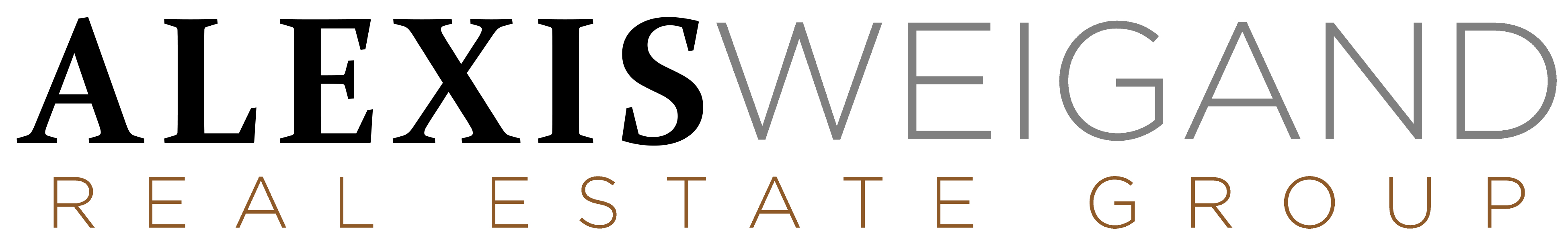 Alexis Weigand Real Estate logo