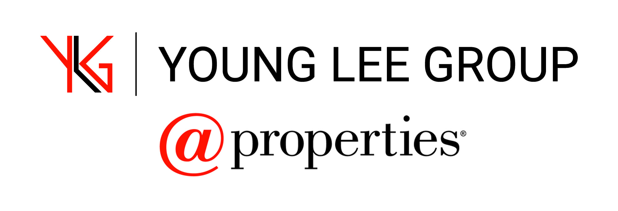 Young Lee Group with @Properties logo