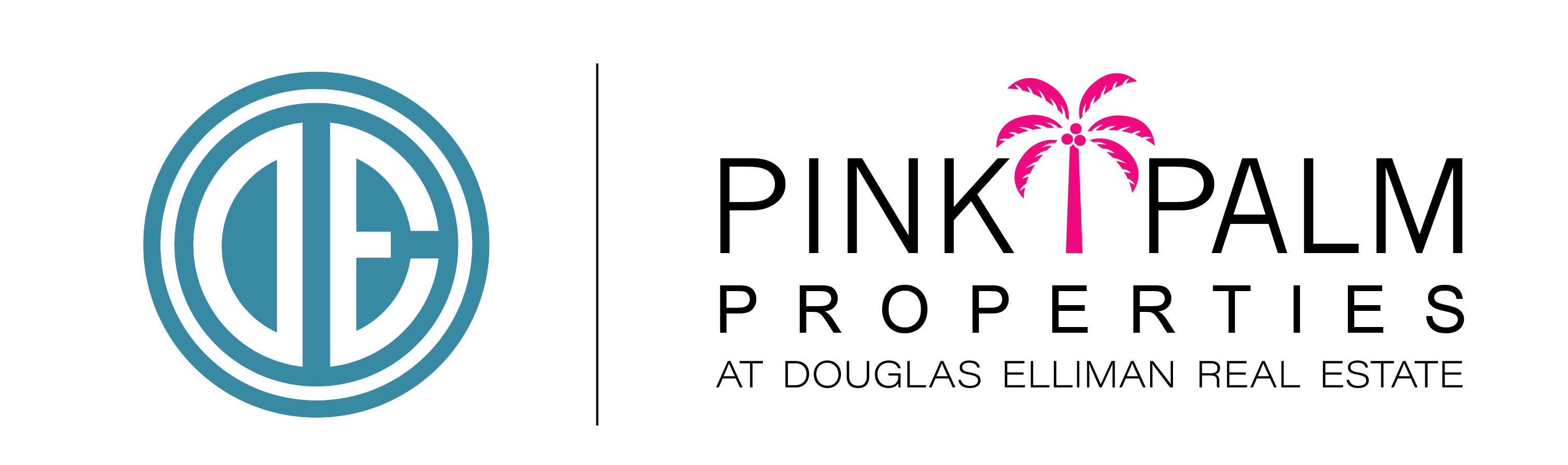 Pink Palm Properties of Douglas Elliman logo