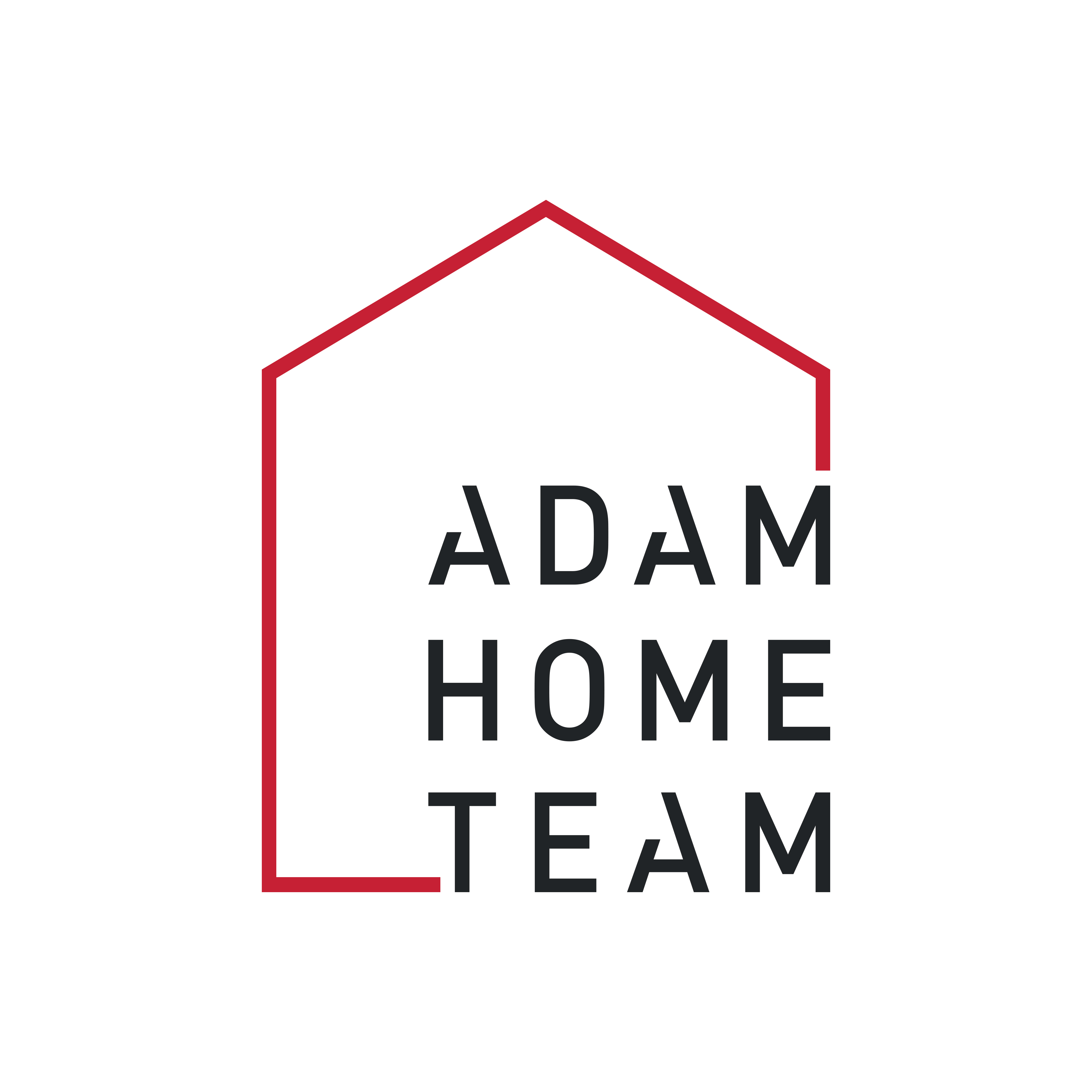 The Adam Home Team logo