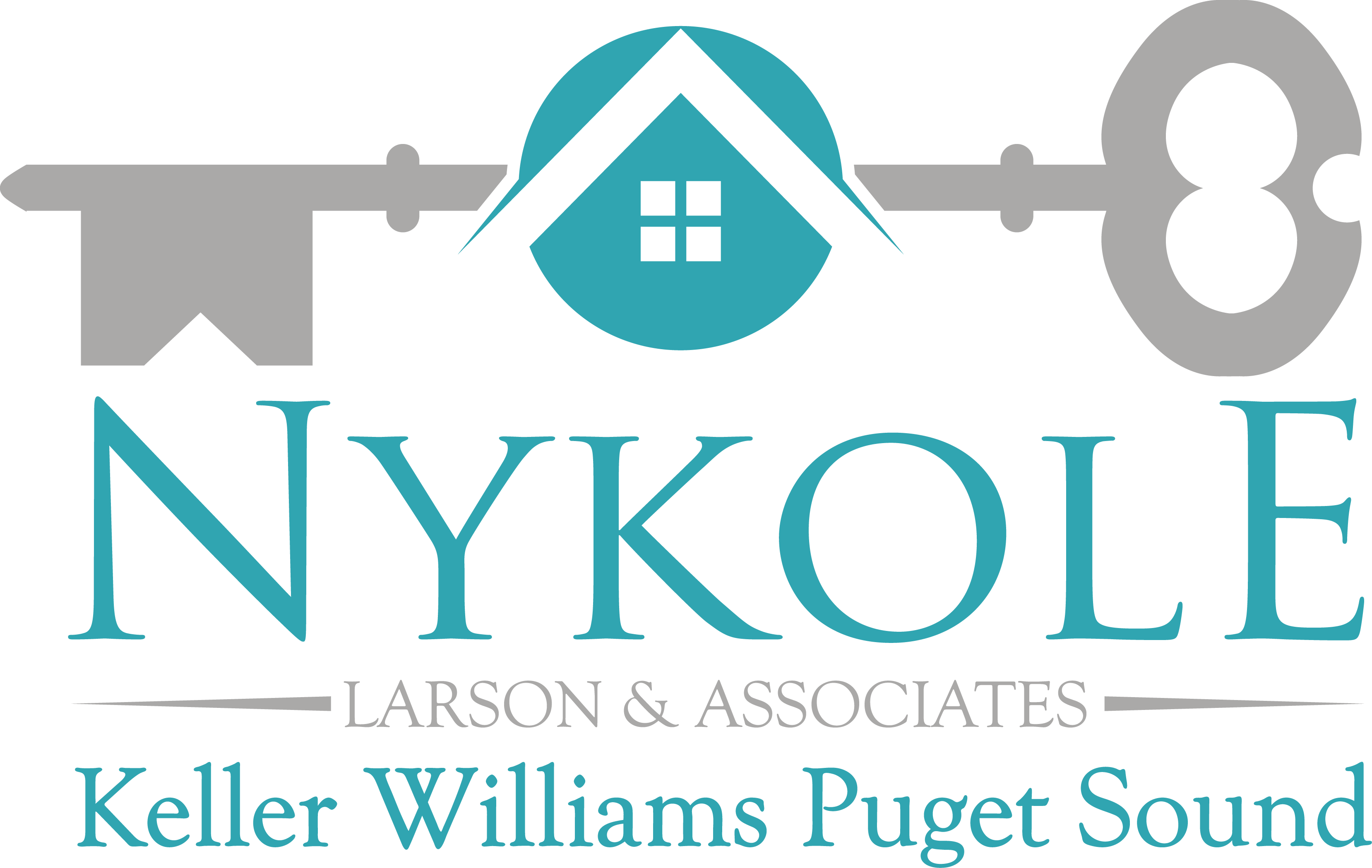 Nykole Larson & Associates, Keller Williams Puget Sound logo