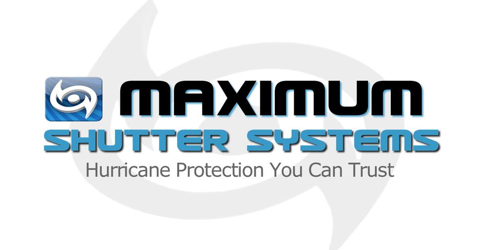 Maximum Shutters logo