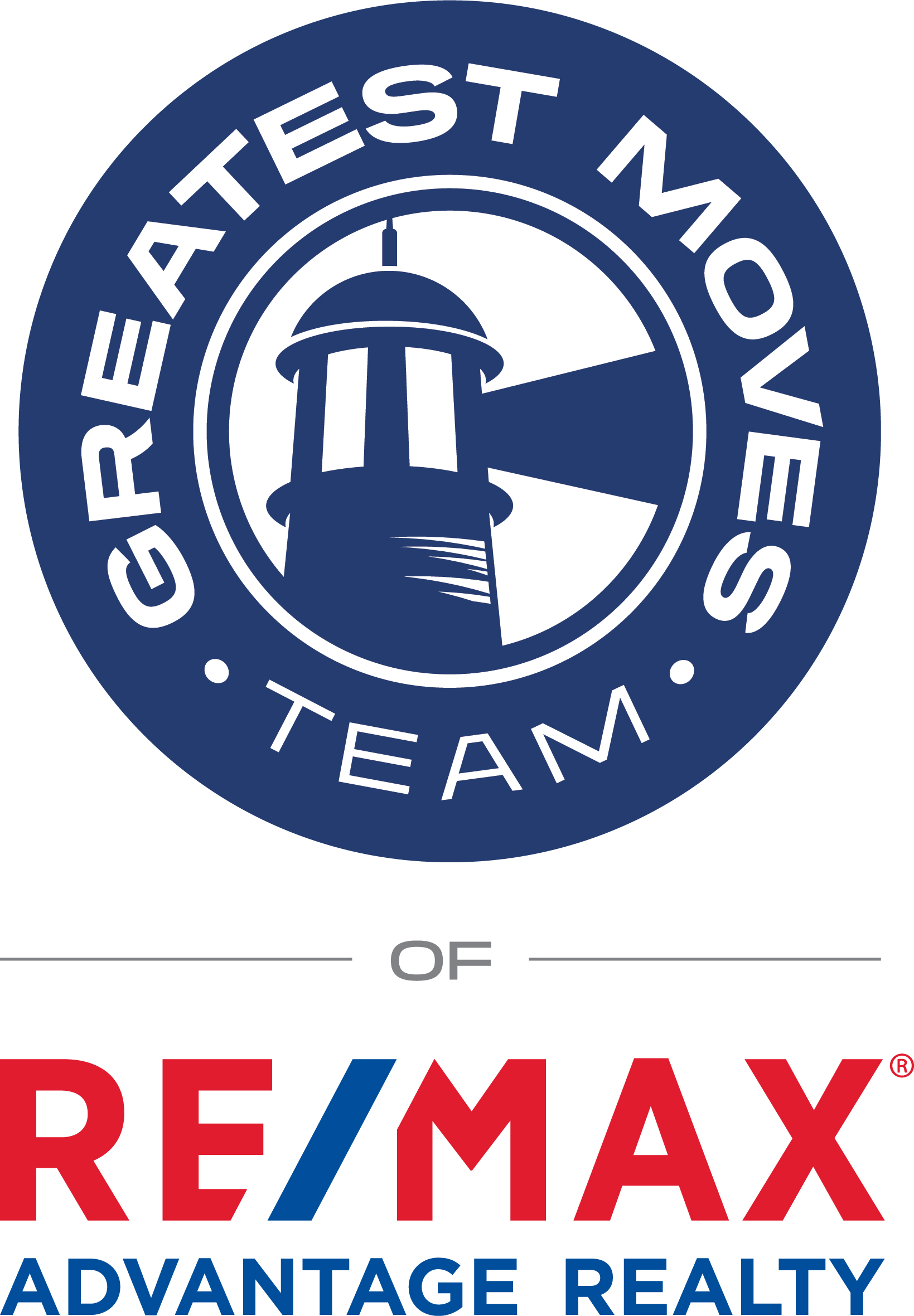 The Greatest Moves Team of RE/MAX Advantage Realty logo