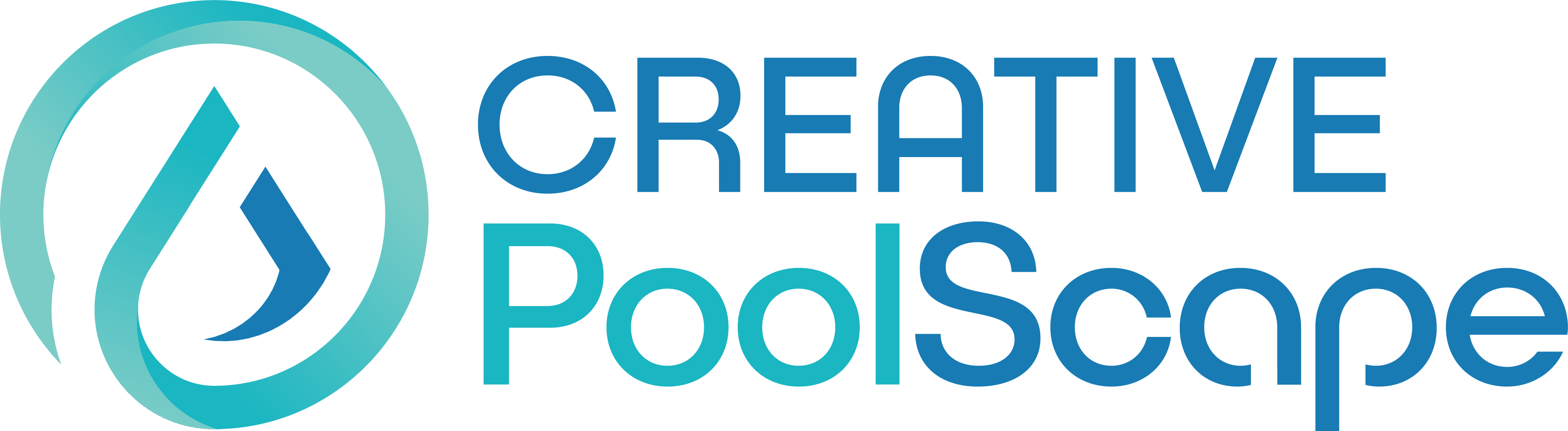 Creative Poolscape logo