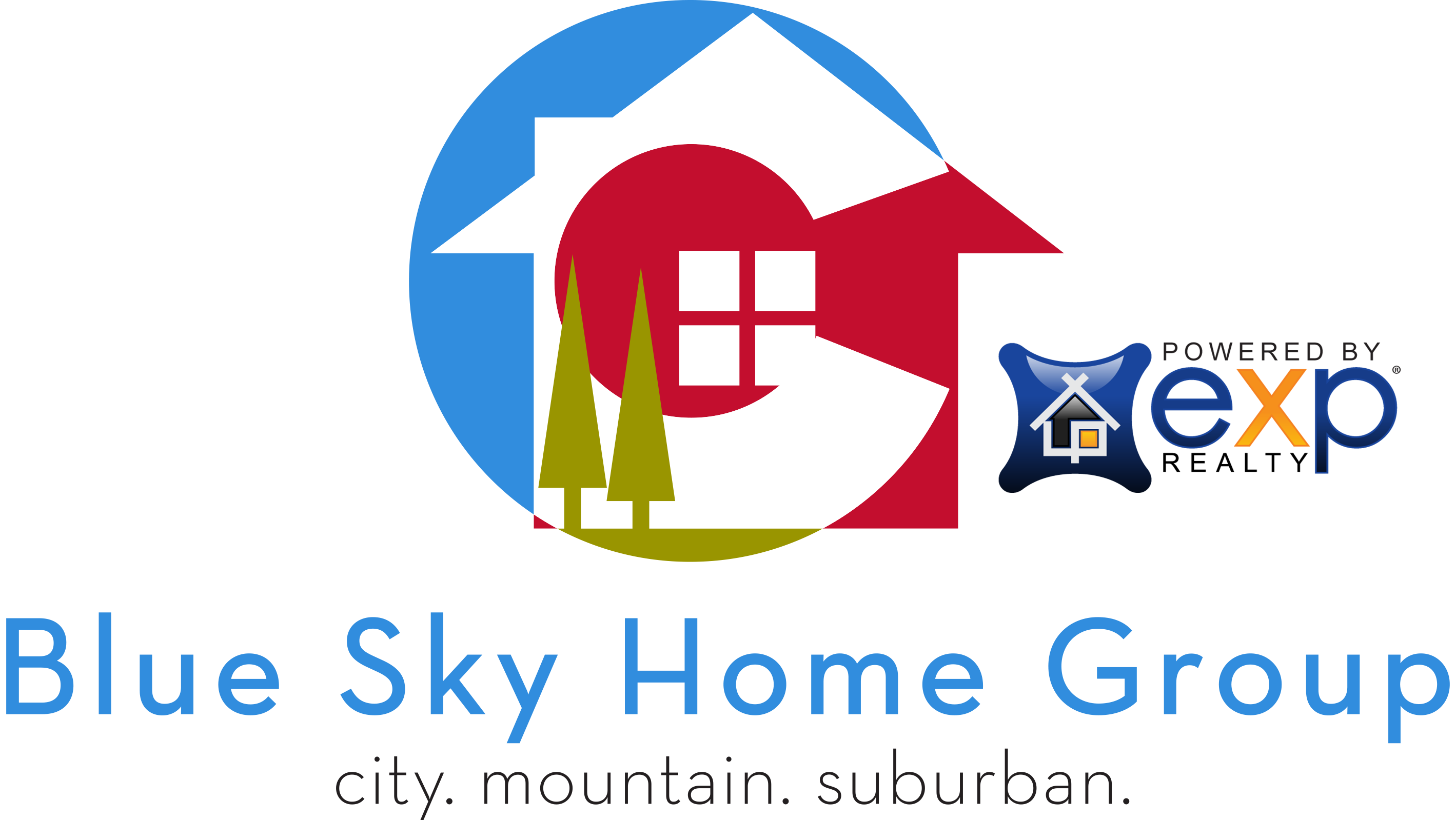 Blue Sky Home Group EXP realty logo