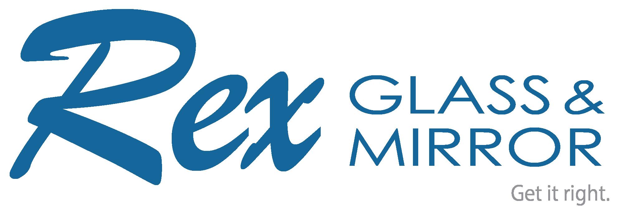 Rex Glass logo