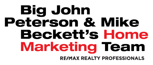 Big John Peterson and Mike Beckett's Home Marketing Group logo