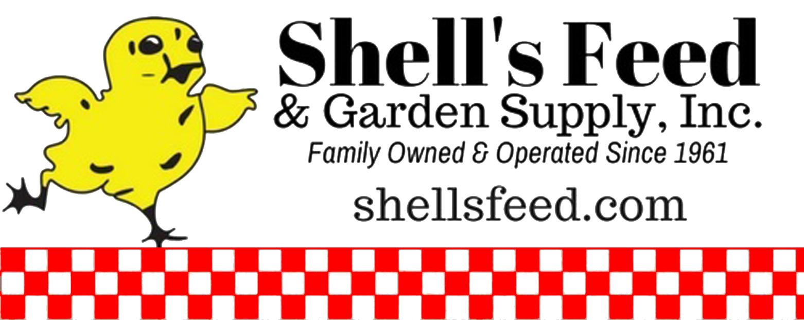 Shell's Feed & Garden Supply logo