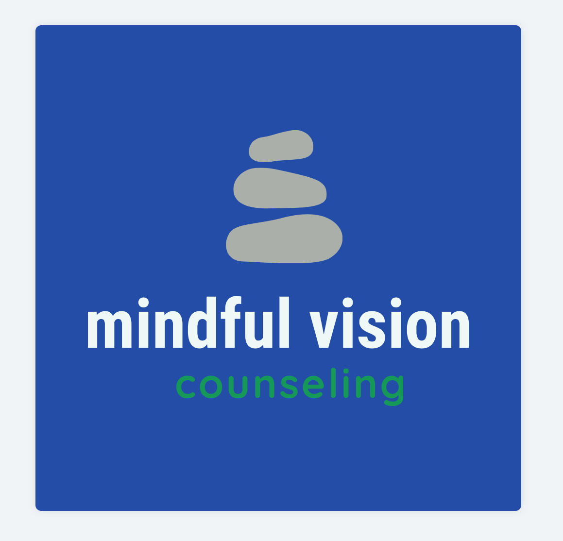 Mindful Vision Counseling logo