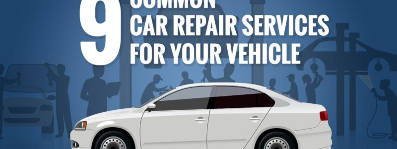 The Top 9 Most Common Car Repairs