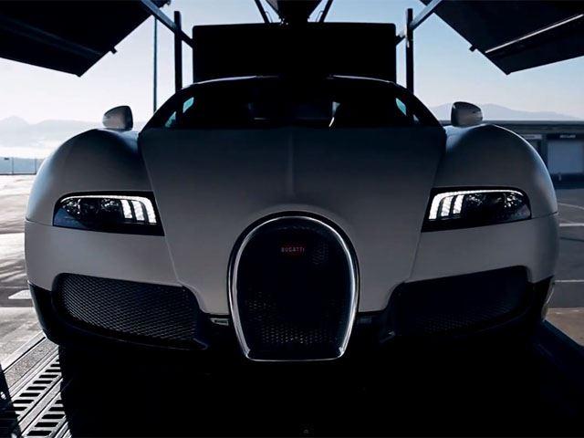 Bugatti Veyron GS laps the Fuji Speedway