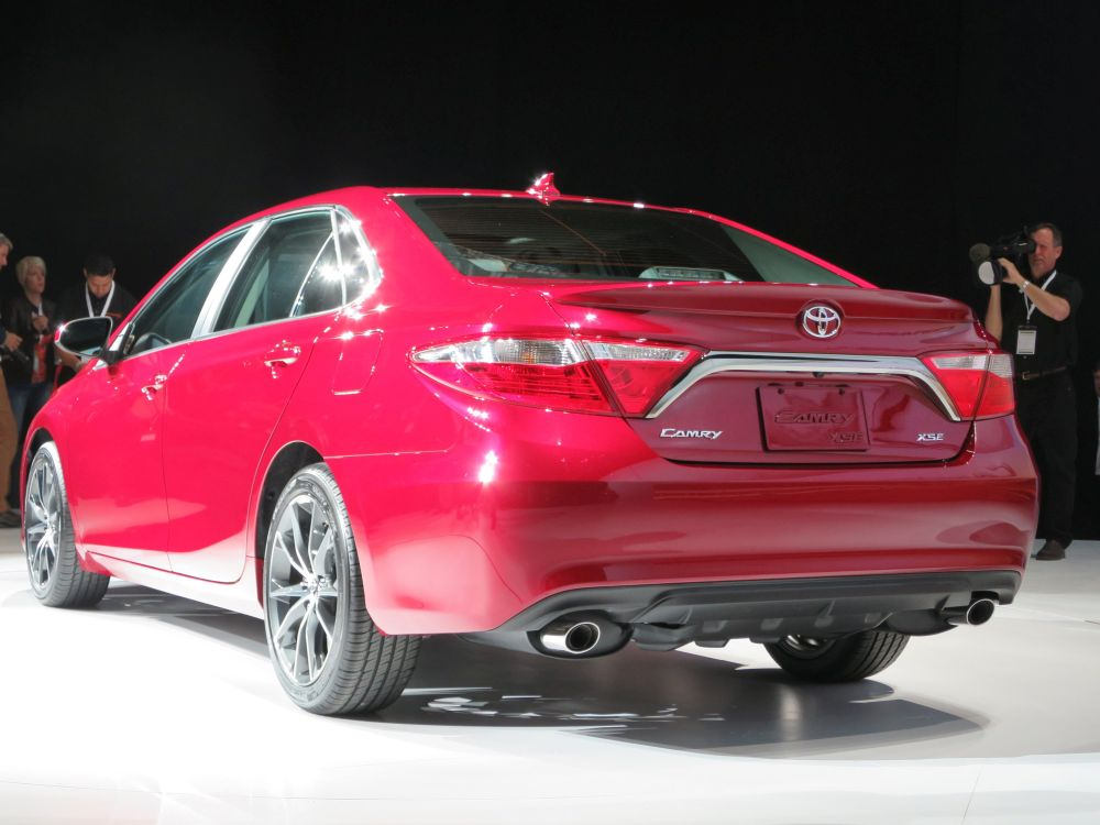New York auto show: Camry refresh more dramatic than usual