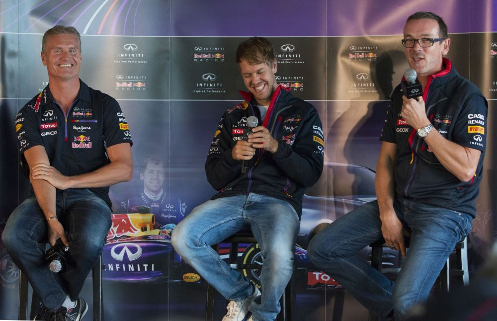 Motorsport: Canadian Grand Prix - Vettel proud to show off his baby