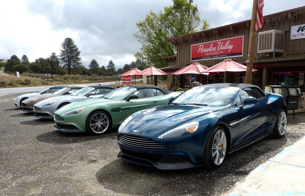 Dr. California and Mr. Aston Martin