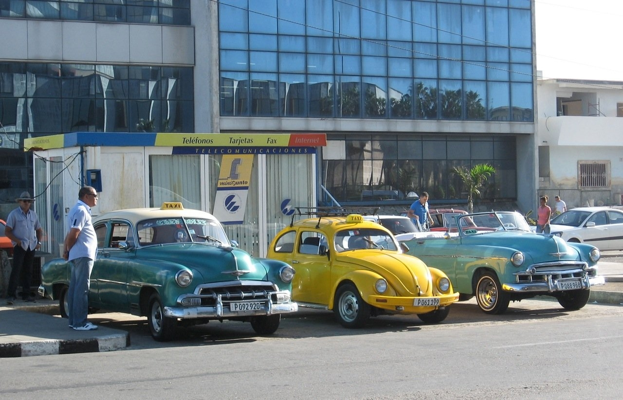 Not just old cars in Cuba