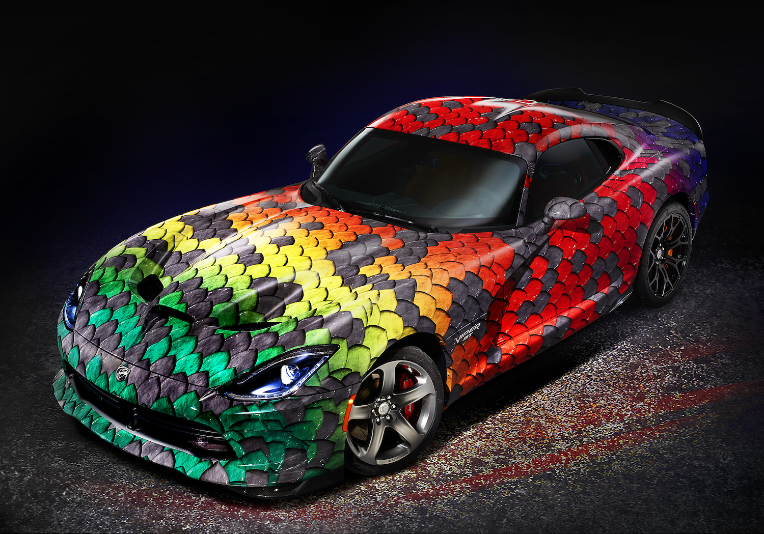 Dodge Viper Offers Industry-First