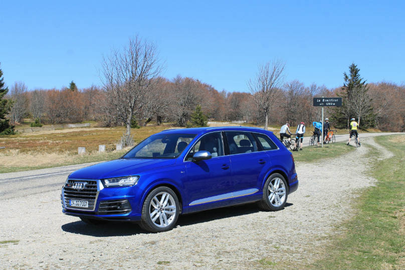Preview: 2017 Audi SQ7 gets charged up