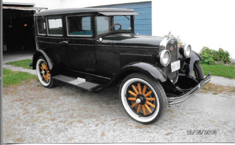 Eye Candy: 1928 Chevy had cameo movie role