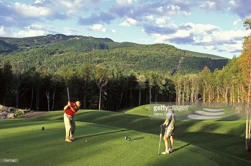 le diable golf course
