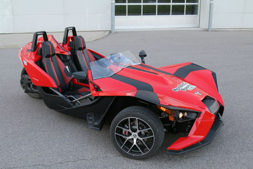 Slingshot SL surges into action