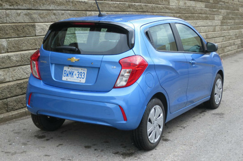 Review: Chevy's cheapest car wins on features