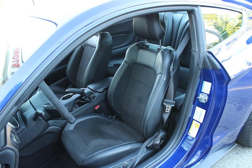 interior gt350
