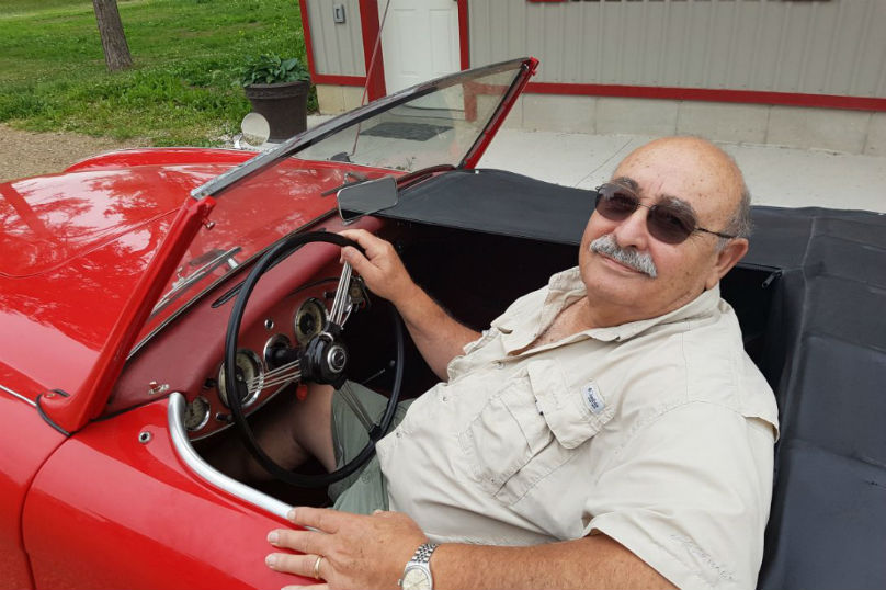 Eye Candy: How me and a 1961 Austin Healey healed each other