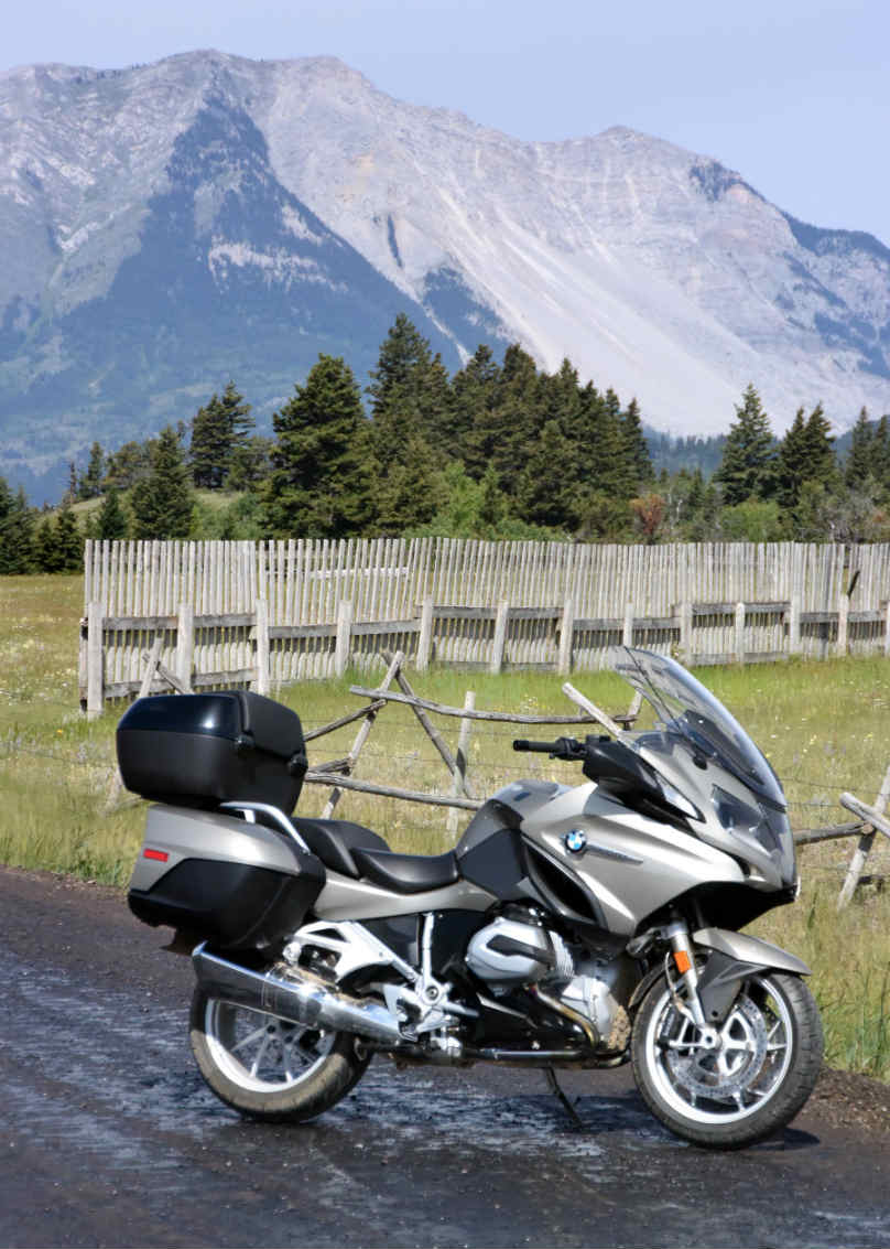 The road from TO to Vancouver - Riding the Rockies