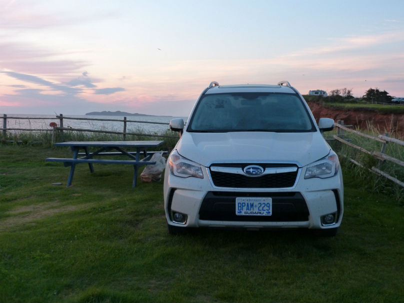 Road Trip: Car camping in the Magdalen Islands