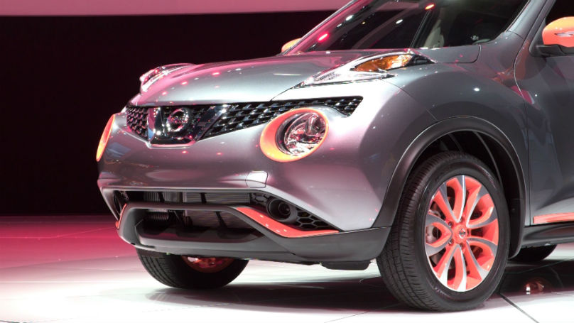 Nissan JUKE Colour Studio Offers 12 Accessories, Six ...
