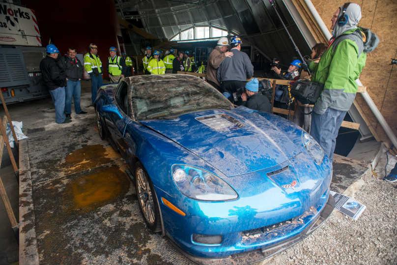 Corvette ZR1: First Sinkhole Corvette Restored