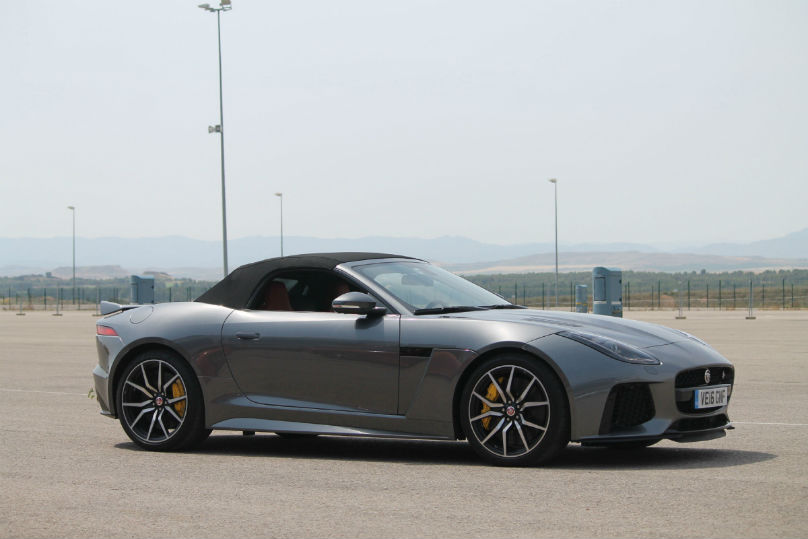 Preview: Jaguar F-Type SVR is the fastest cat in town