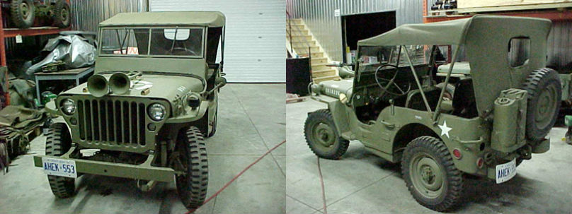 New life for vintage Jeeps