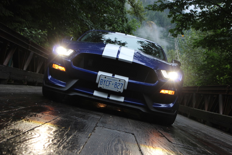 gt350 front