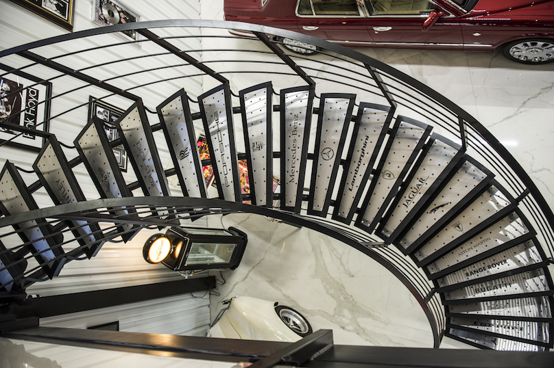 mancave stairs