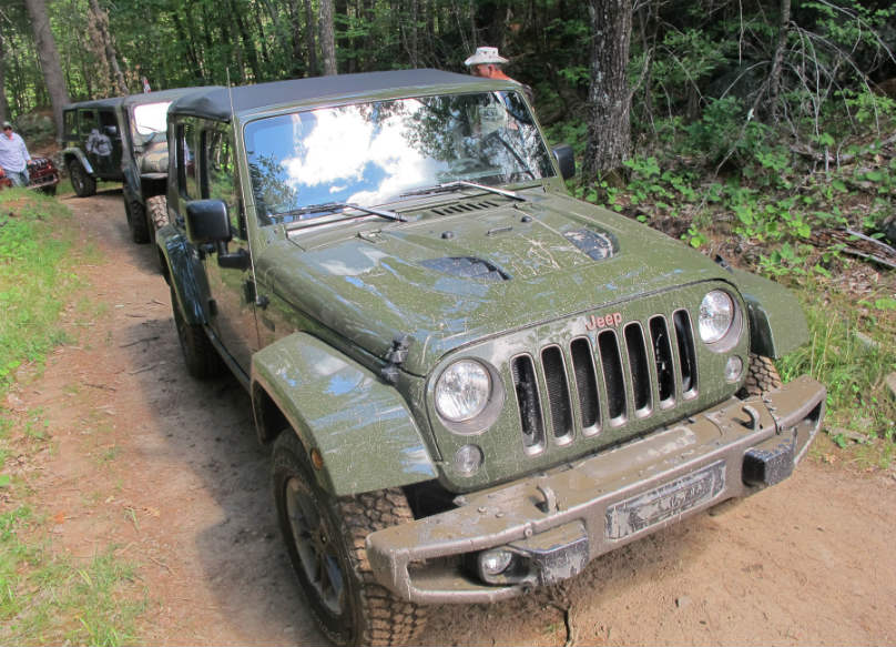Jeep marks 75 years by proving its mettle